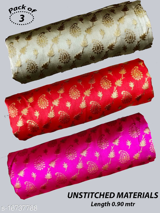 Banarasi silk Blouse Unstitched Materials