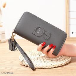 Valerie Women Wallet Girls Wallets Zipper Latest Trendy Cute Clutch Purse hand bag