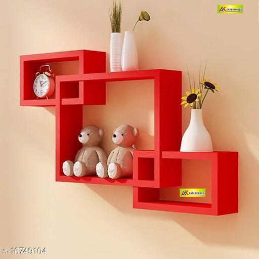 Latest Engineered Wood Wall Shelves