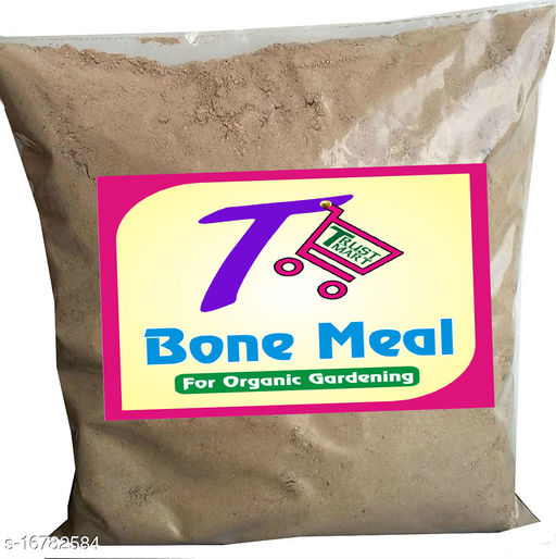 TRUSTMART 100% Organic Steamed Bone Meal NPK(3-15-0) Fertilizer 1.8kg