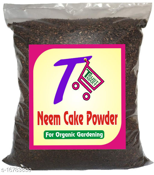 TRUSTMART 100% Organic Neem Cake Powder 900gm