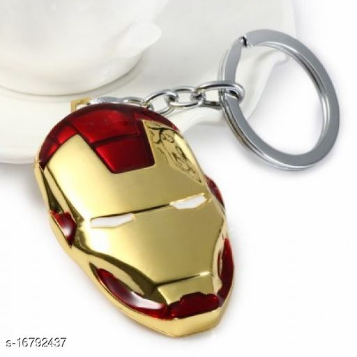 Inispire2Fashion Iron Men Logo Key Chain