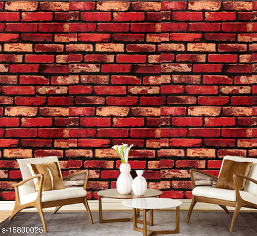 Oren EmpowerHY9268 Decorative PVC Vinyl Waterproof Wallpaper (W - 45cm, L - 330cm)