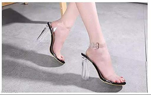 Trendy Women's Black Heels