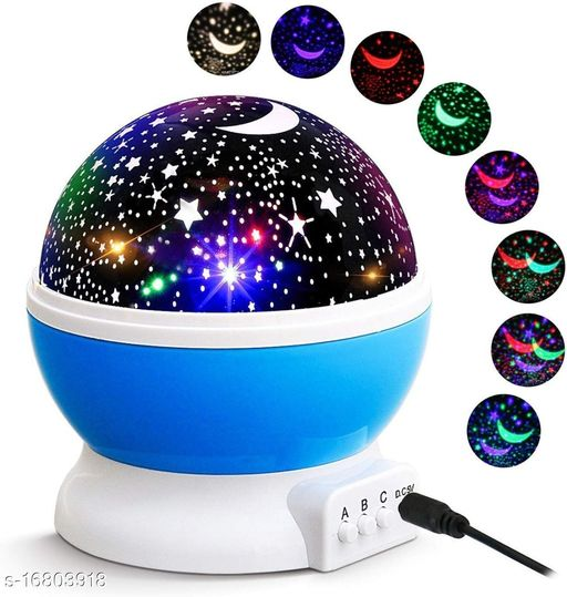 Star Master Projector with USB Wire Colorful Romantic LED Cosmos Star Master Sky Starry Night Projector Bed Light LampStar Master