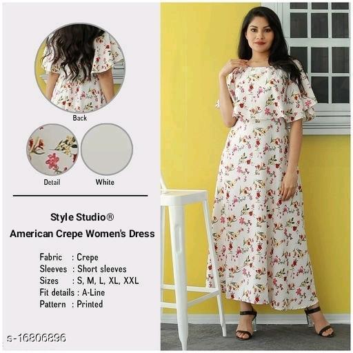 American Crepe Women's Dresses JC-3