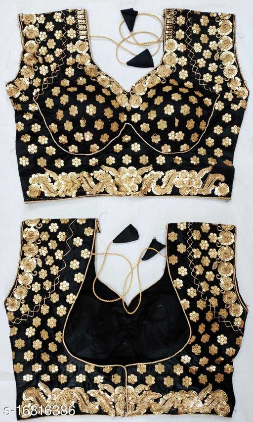 PANKHUDI COLLECTION IMPORTED  BEAUTIFUL SEQUANCE  BLOUSE