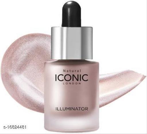 Natural Iconic london illuminator liquid highlighter face and body waterproof 3D glow bridal makeup Highlighter (Shine)