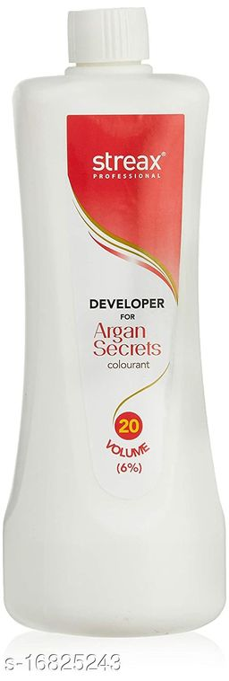 Streax Professional Argan  Secret Developer 20 Volume  1000 ml