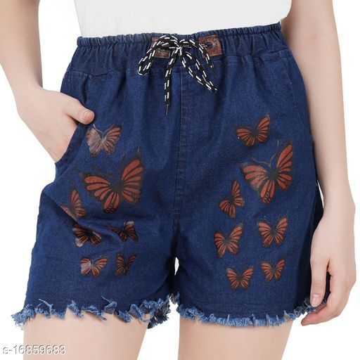 Elegant Trendy Women Shorts