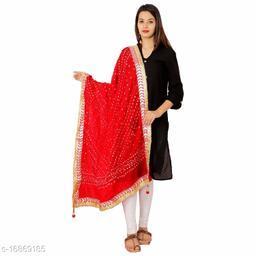 Art Silk Bandhej Dupatta For women's