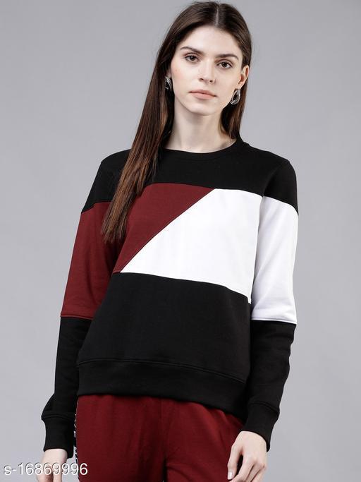 Colorblocked womens Sweatshirt
