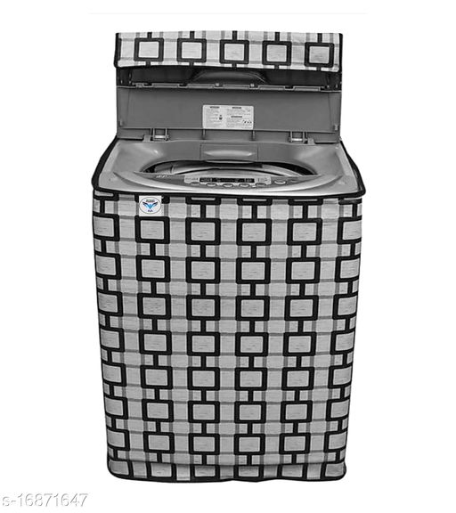 Great Fashion Printed Washing Machine Cover for Fully-automatic (Top Loading) (Multicolour) 7-kg