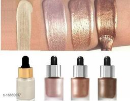 GLOWY GLOW BLOSSOM LIQUID ICONIC HIGHLIGHTERS COMBO PACK Highlighter (SHINE01, GLOW03, ORIGINAL02, BLOSSOM04)