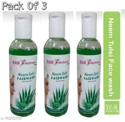 Neem Tulsi face wash(Pack of3)