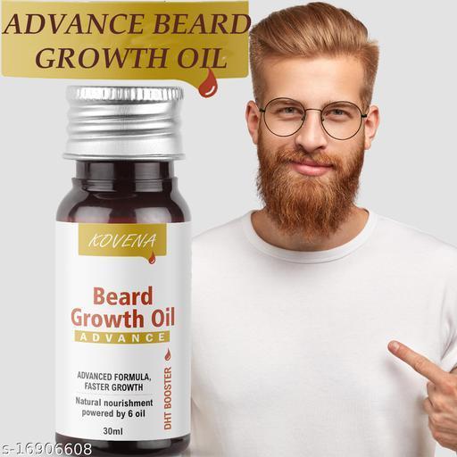 Kovena Beard Oil For More Beard Growth, With Redensyl, Vitamin E, Nourishment Beard oil-(30 ml)