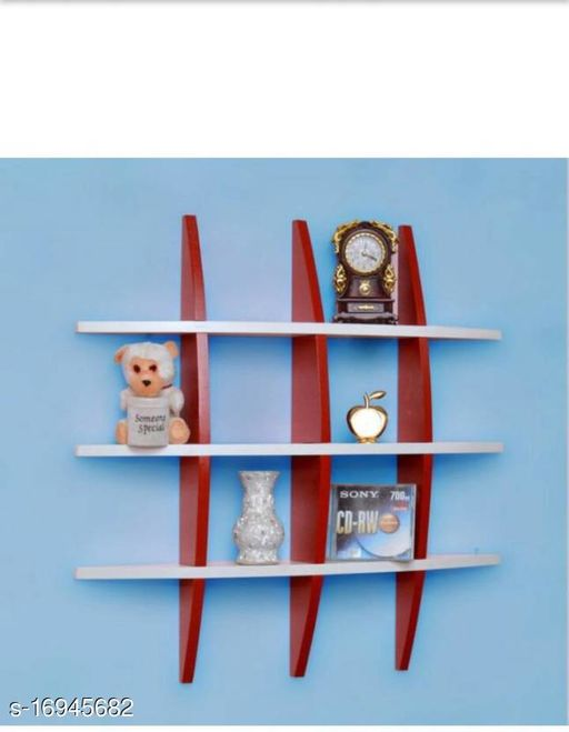 Attractive Wall Shelves
