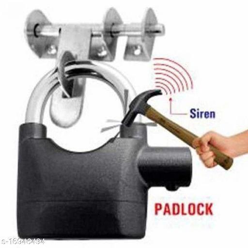 MobFest® Theft Alarm Security Siren for Shop/Home/Office/Door/Bicycle etc PadLock