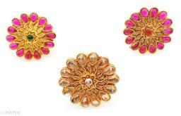 Flower Style Elegant Combo Ring Set