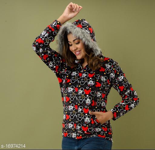 Mialo Mickey print open zip sweatshirt