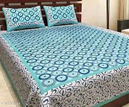 Navyata Home Décor Double Bedsheets