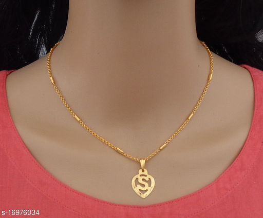 Designer and stylish chain pendent for women and girls