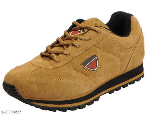 Unique Men's Brown Sports Shoes