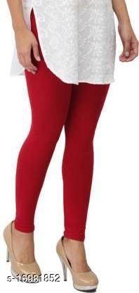 trendy latest Ultra Soft Cotton Churidar Solid Regular and Plus 45 Colours Leggings for Womens and Girls.100% cotton.and 100% gaurantee.