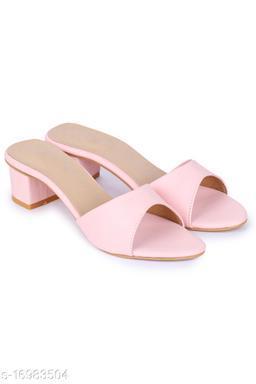 Beautiful Women's PU White Heels