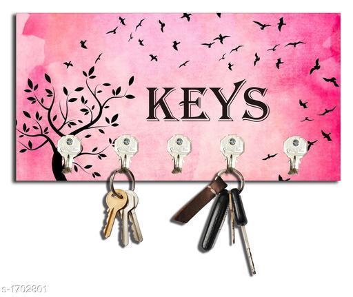 Attractive Wooden Key Holder
