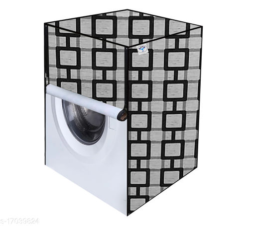 Great Fashion Printed Washing Machine Cover for IFB (Front Loading) (Multicolour) 7-KG
