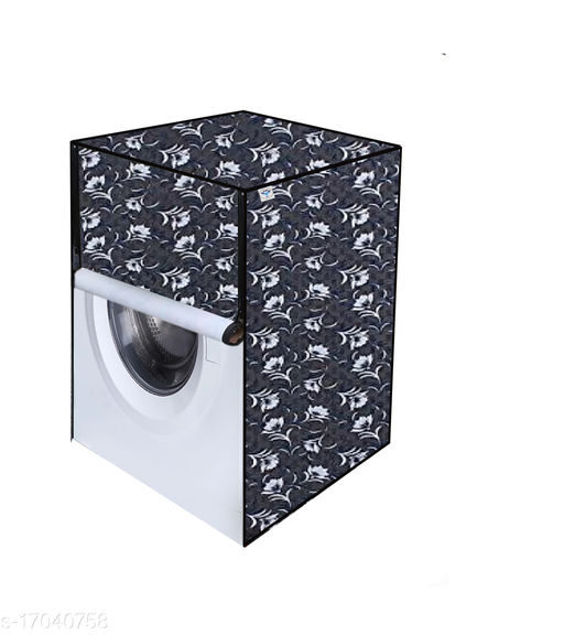 Great Fashion Printed Washing Machine Cover for IFB (Front Loading) (Multicolour) 8-KG