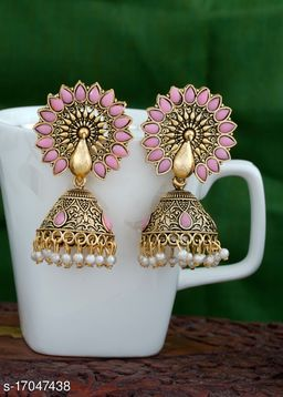 Feminine Chunky Earrings