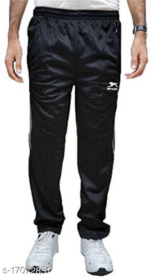 shiv-naresh polyester black trackpant