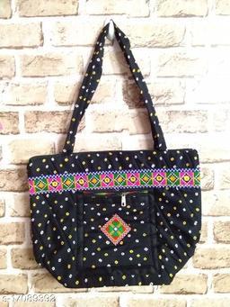 BANDHANI WOOMEN SHOULDER BAG(BLACK)