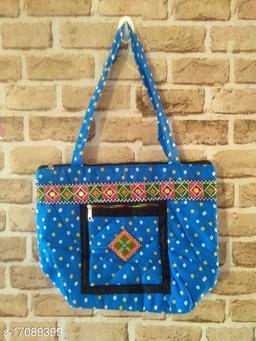 BANDHANI WOOMEN SHOULDER BAG(BLUE)