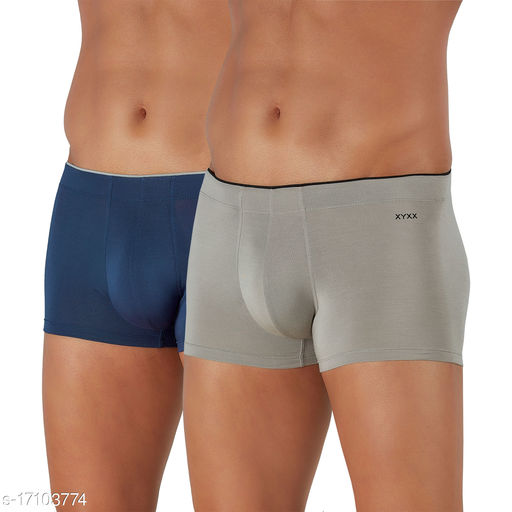 IntelliSoft Antimicrobial TENCEL Modal Premium Uno Trunk For Men (Pack of 2)