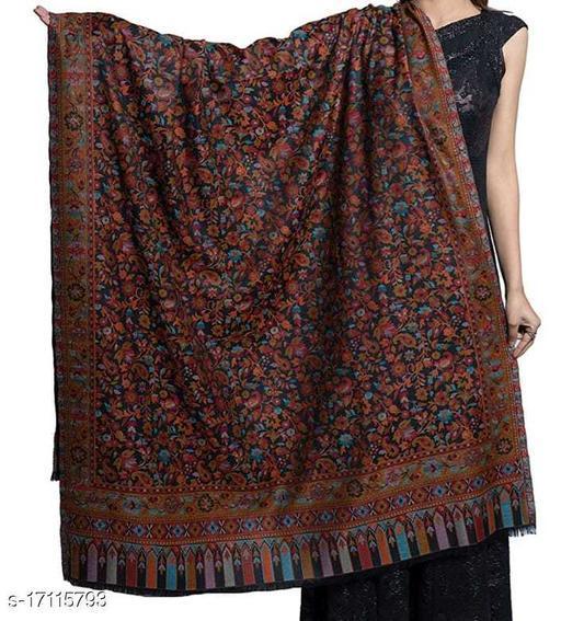 Women's Fine Wool, Kaani Jaal Design, Floral Paisley Pattern, Kasimiri Soft and warm Shawl