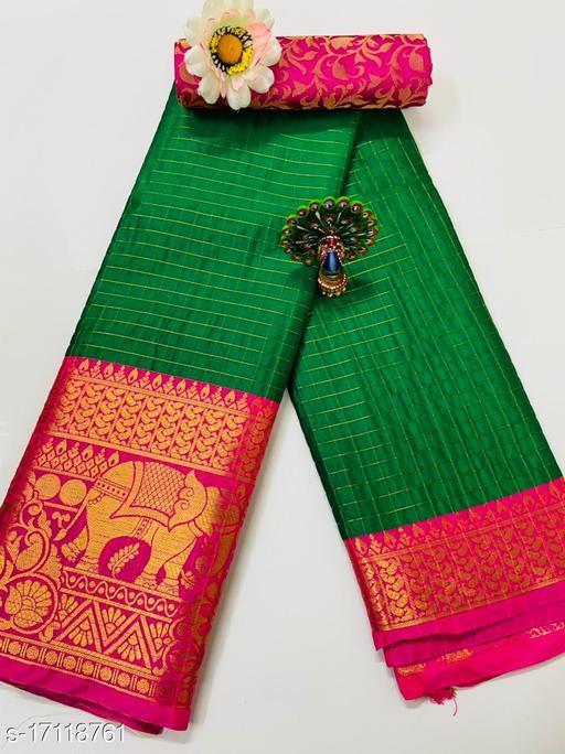 Trendy Solk Silk Saree