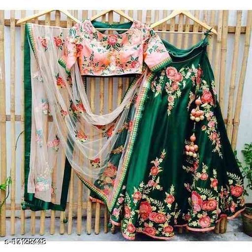 Perrot Embroidered Attractive Party Wear Lehenga Choli-LC225