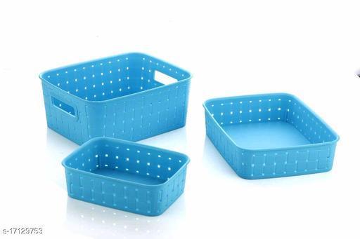 smart basket blue