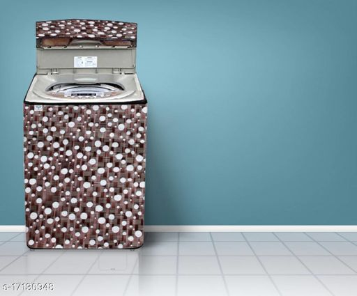 Great Fashion Printed Washing Machine Cover for Fully-automatic (Top Loading) (Multicolour)