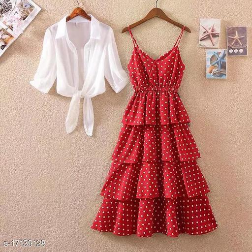 awesome polka dot dress for women