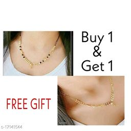 womens trendy combo mangalsutras and necklaces chain