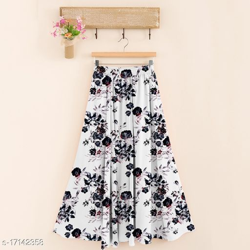 Designer Feminine Women Western Skirts