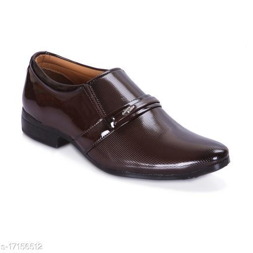 Trendy Men's Brown Formal Shoes