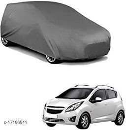 WK Car Body Cover For  Chevrolet Beat (without mirror Pocket)