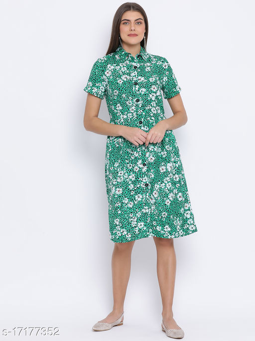 Tropical Glow Measure Women Dress