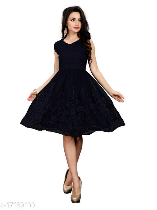 ADVOTIS Western Dress For Women & Girls