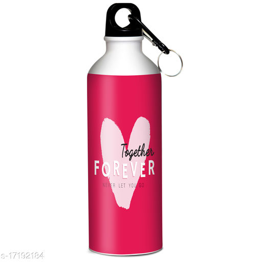 Indian tag Valentines Day Printed Sipper 600 ml Water Bottle|Gift For Your Special One VDIT-SP20